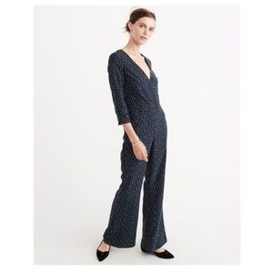 NWT Abercrombie & Fitch Polka Jumpsuit